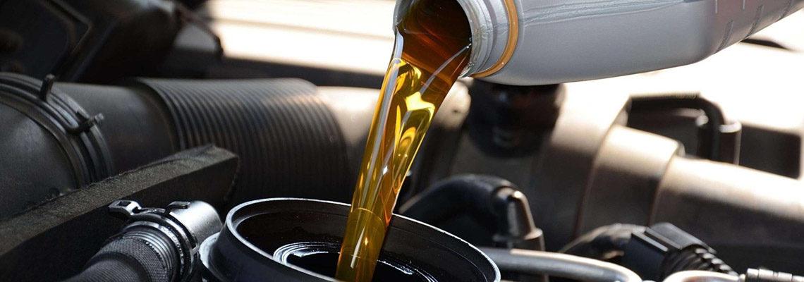 huile pour moteur